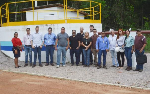 Conselho Consultivo da Arsep visita as instalações da ETE Cabanos